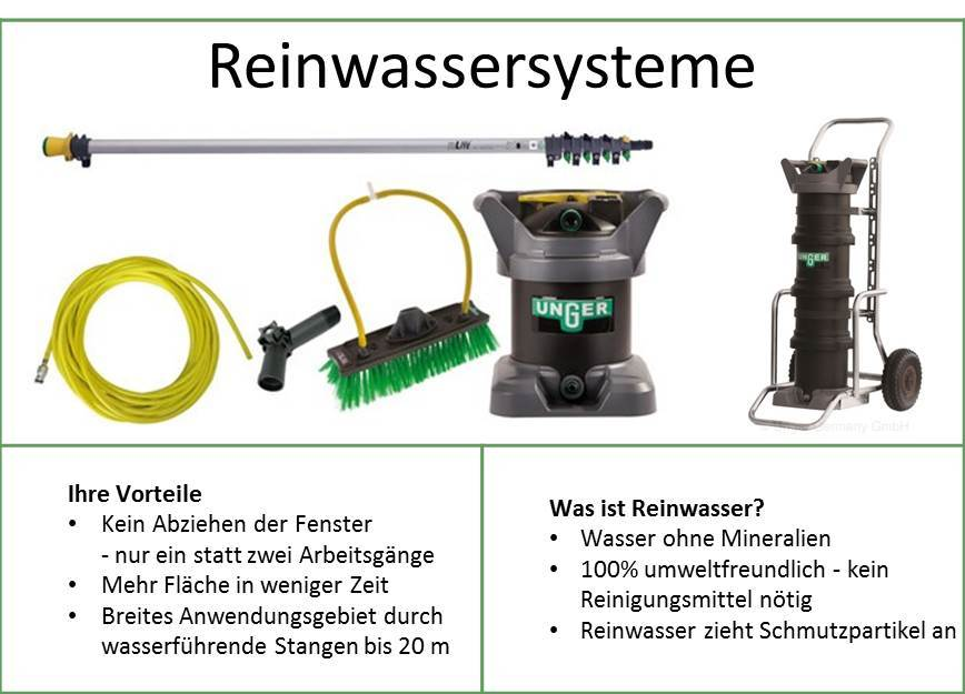 Reinwassersysteme_Sortiment_tabelle